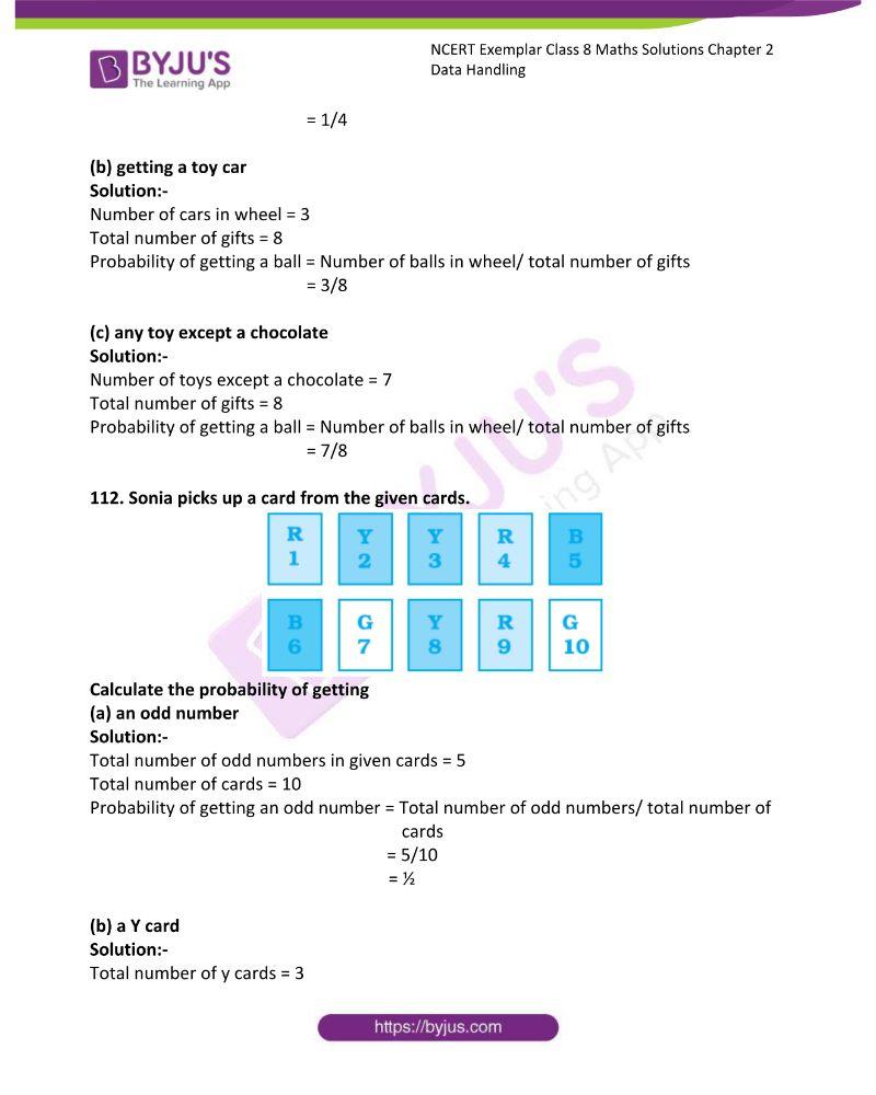 NCERT Exemplar Class 8 Maths Solutions Chapter 2 Data Handling 40