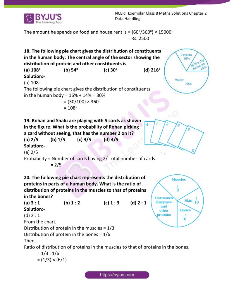 NCERT Exemplar Class 8 Maths Solutions Chapter 2 Data Handling 5