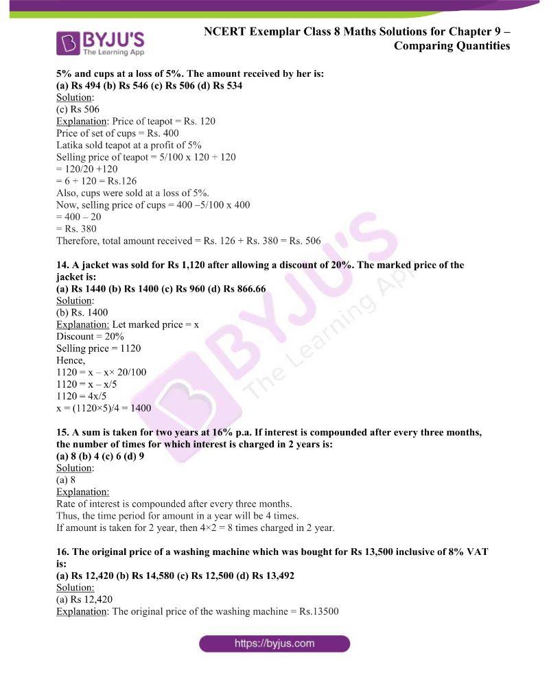 NCERT Exemplar Class 8 Maths Solutions Chapter 9 3