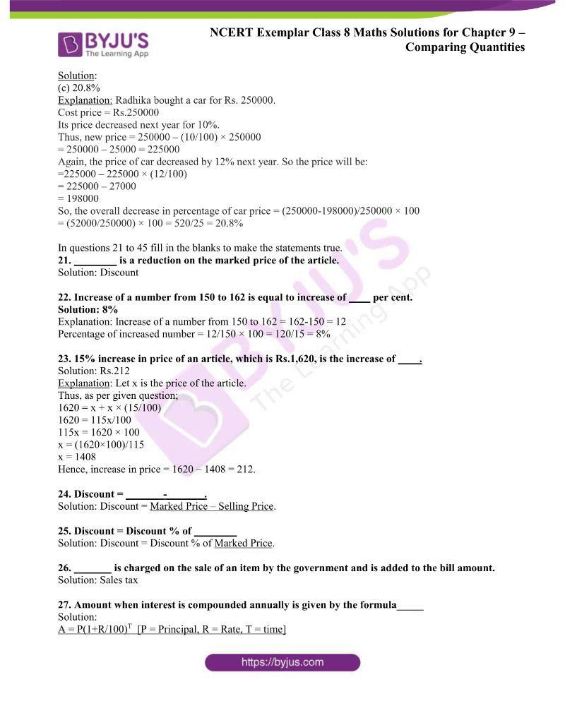 NCERT Exemplar Class 8 Maths Solutions Chapter 9 5