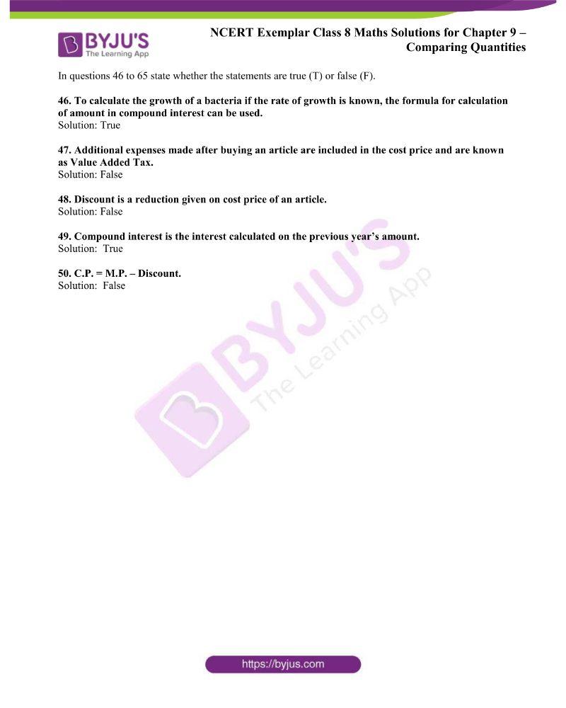 NCERT Exemplar Class 8 Maths Solutions Chapter 9 9