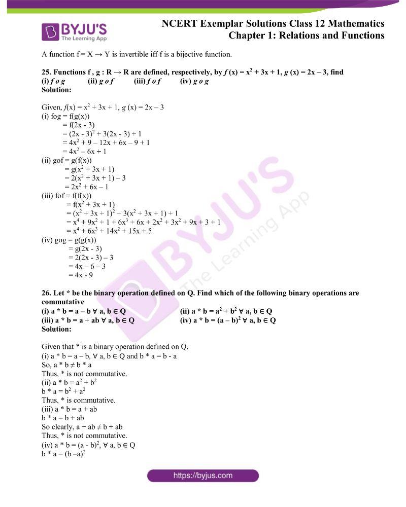 NCERT Exemplar Solutions Class 12 Mathematics Chapter 1 10