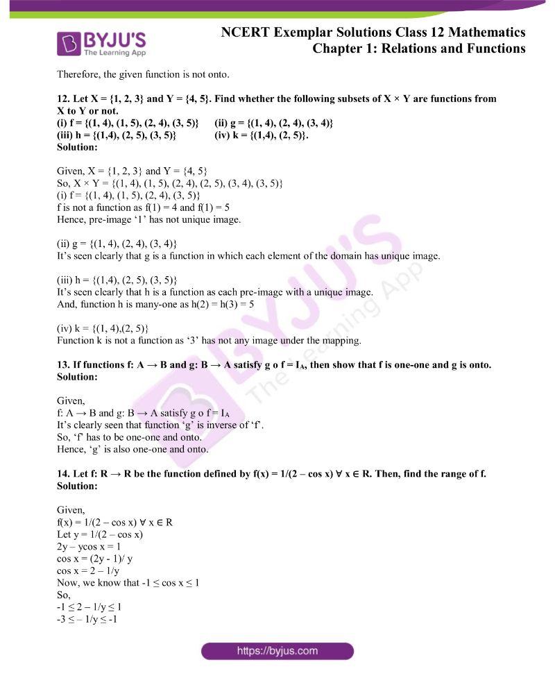 NCERT Exemplar Solutions Class 12 Mathematics Chapter 1 3