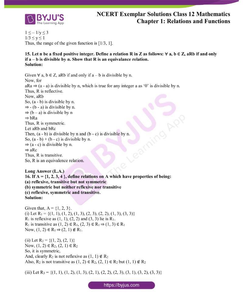 NCERT Exemplar Solutions Class 12 Mathematics Chapter 1 4