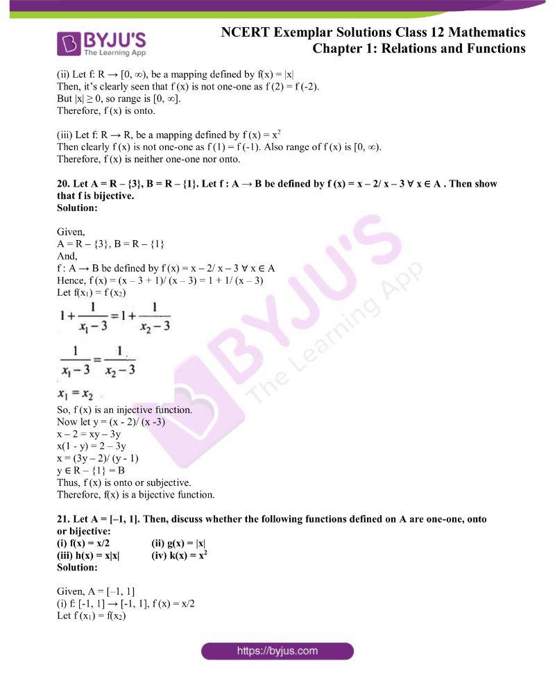 NCERT Exemplar Solutions Class 12 Mathematics Chapter 1 6