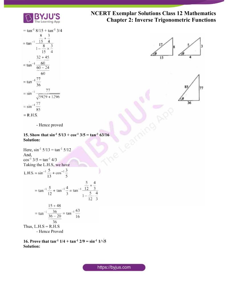 NCERT Exemplar Solutions Class 12 Mathematics Chapter 2 7
