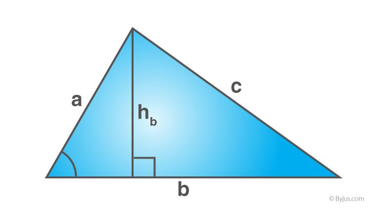 Scalene Triangle Formula
