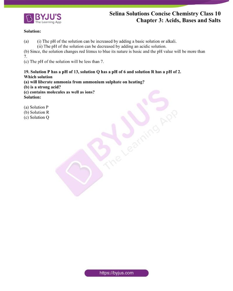 Selina Solutions Concise Chemistry for Class 10 Chapter 3 5