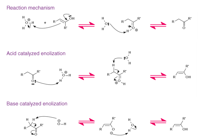 Tautomerism Reaction Mechanism