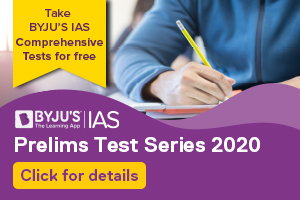 Prelims Test Series 2020