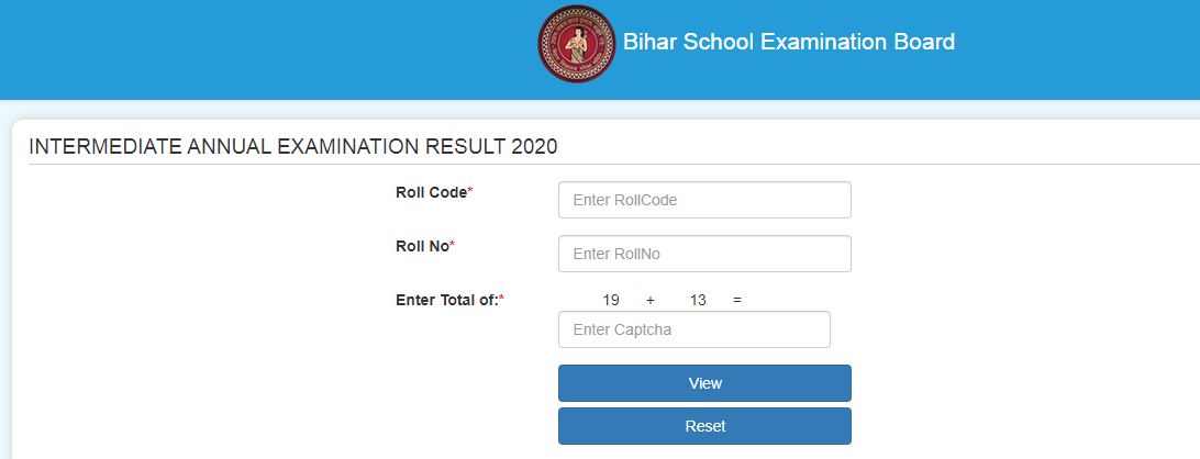 BSEB Class 12 Results Online