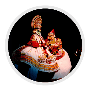 GK Questions on Popular Classical Dances of India for Class 3-Kathakali