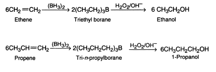 Hydroboration of Alkenes