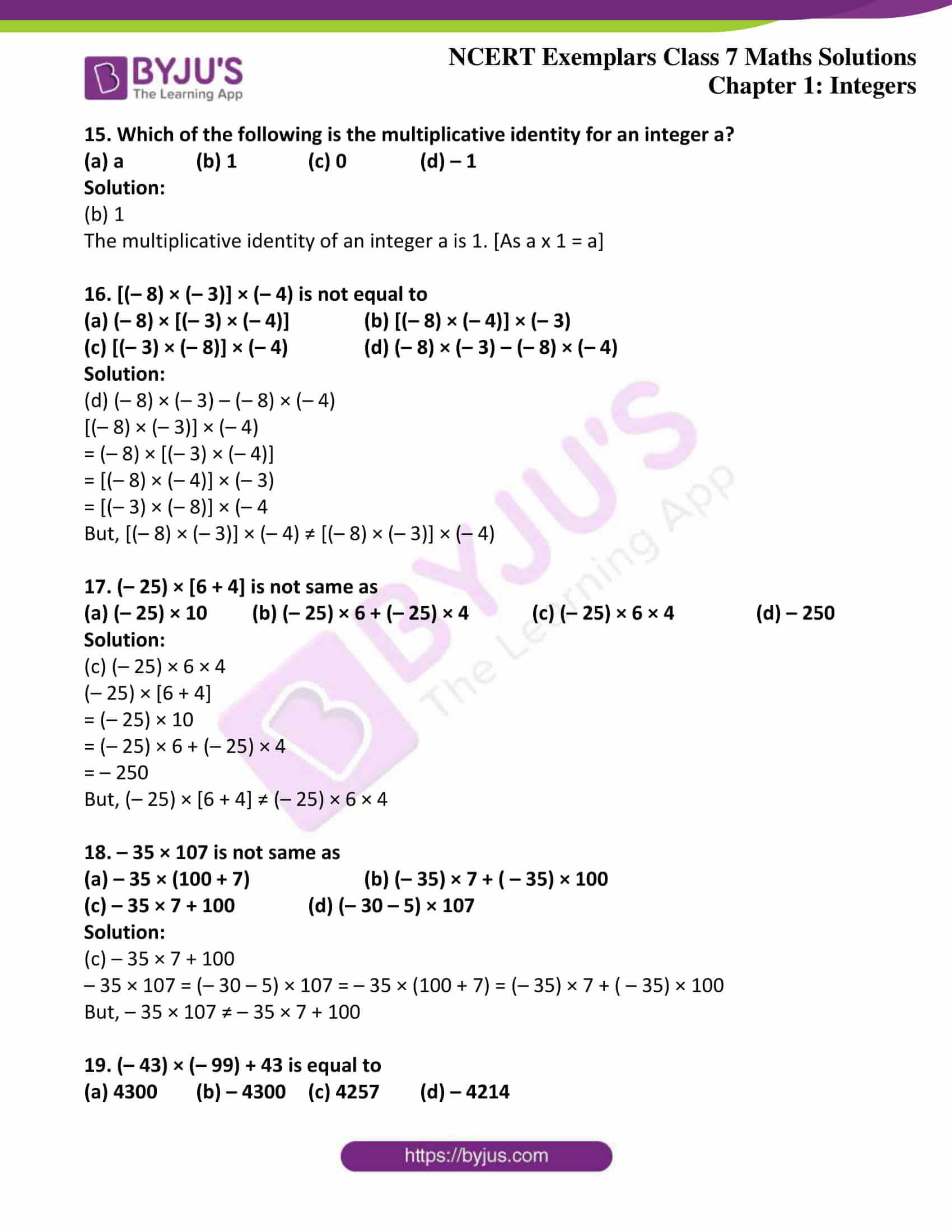 ncert exemplar class 7 maths solutions chapter 1 integers 05