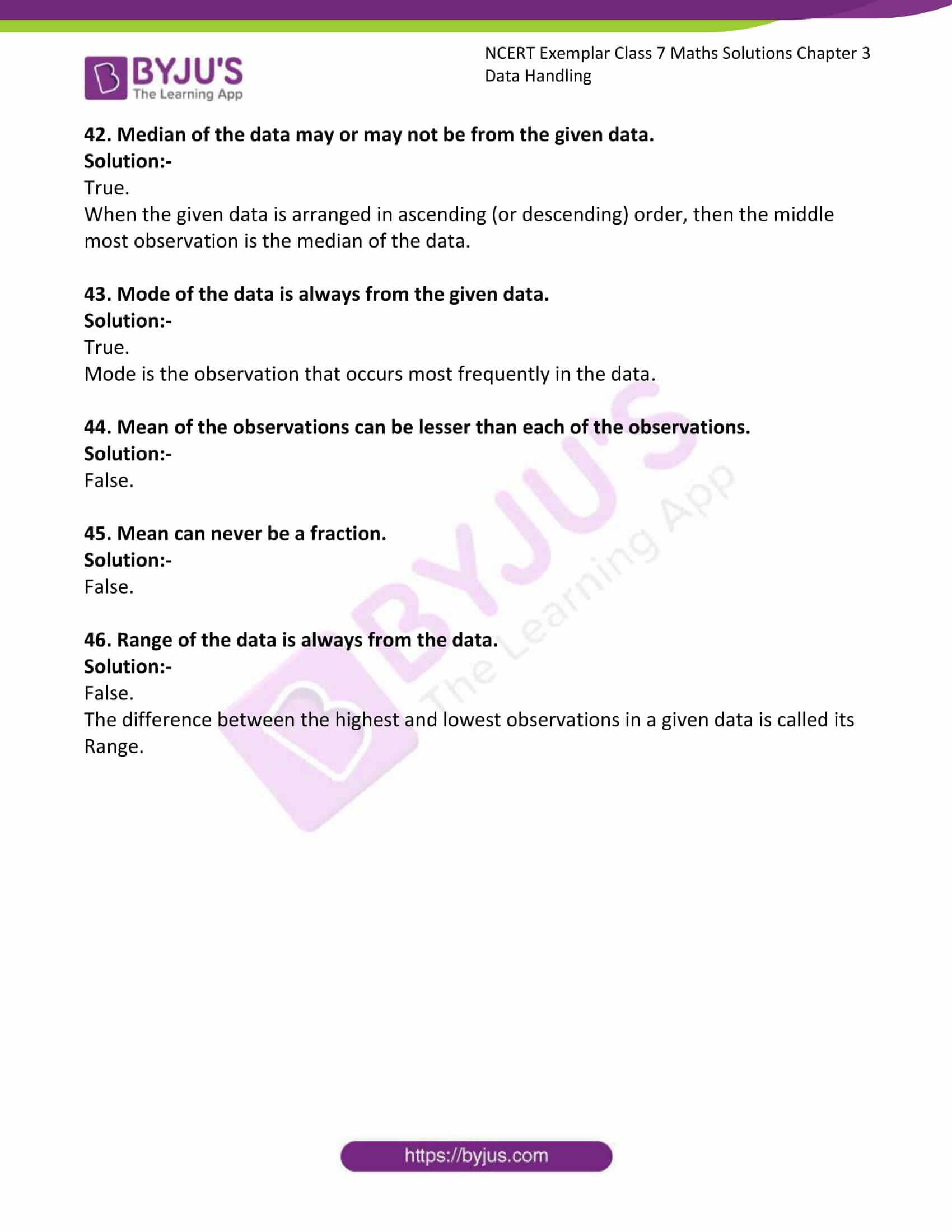 ncert exemplar class 7 maths solutions chapter 3 data 10