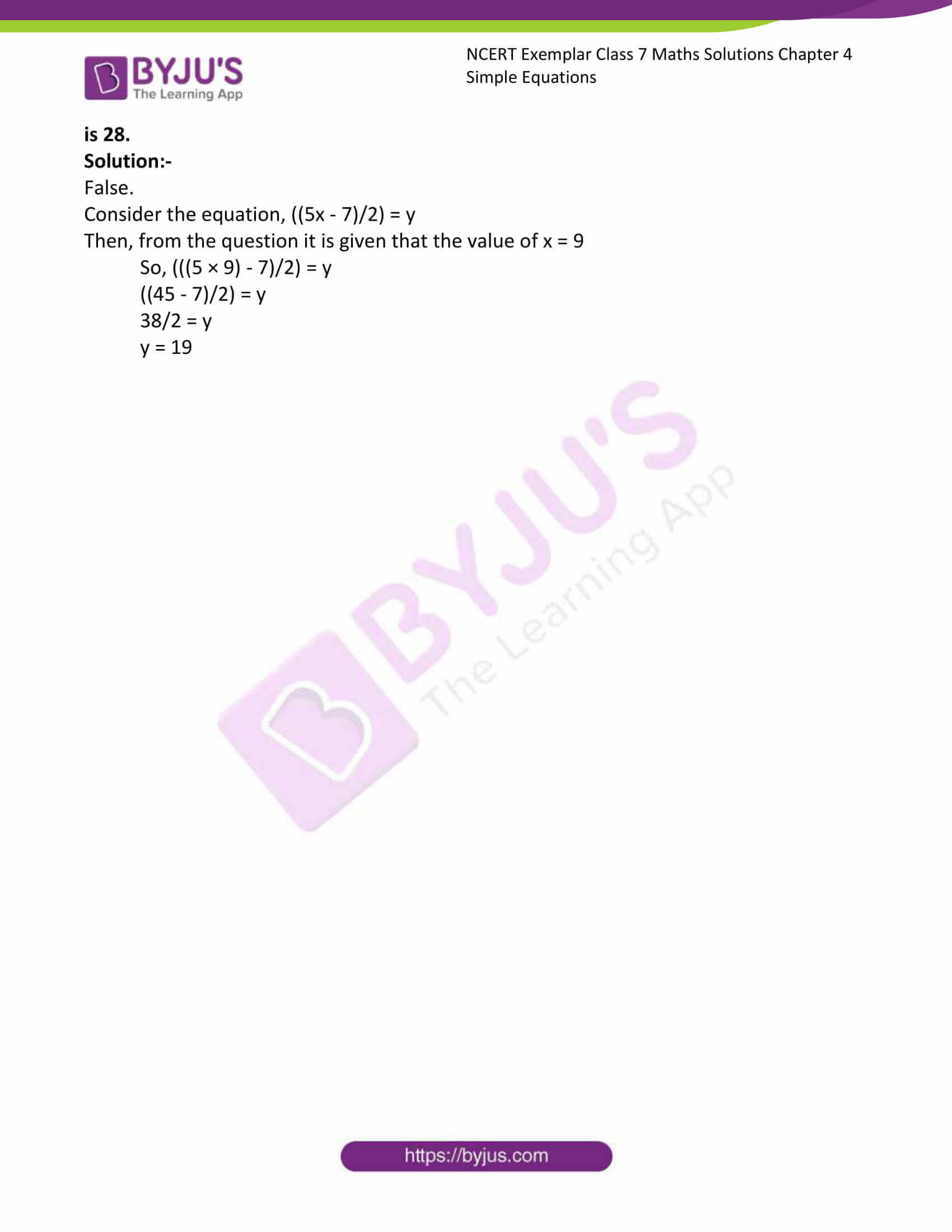 ncert exemplar class 7 maths solutions chapter 4 simple 18