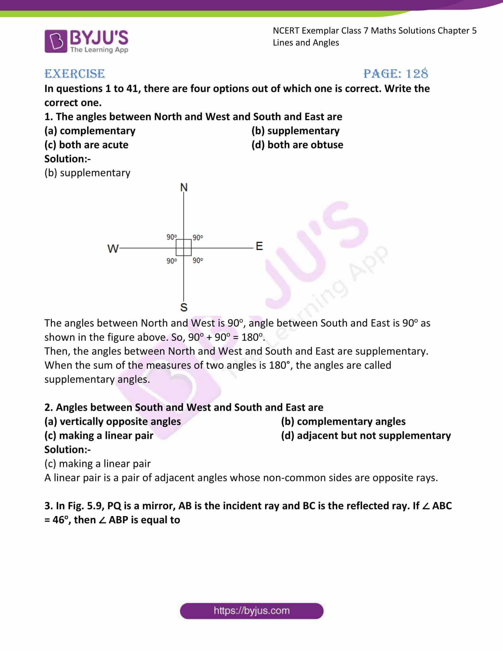 ncert exemplar class 7 maths solutions chapter 5 lines 01