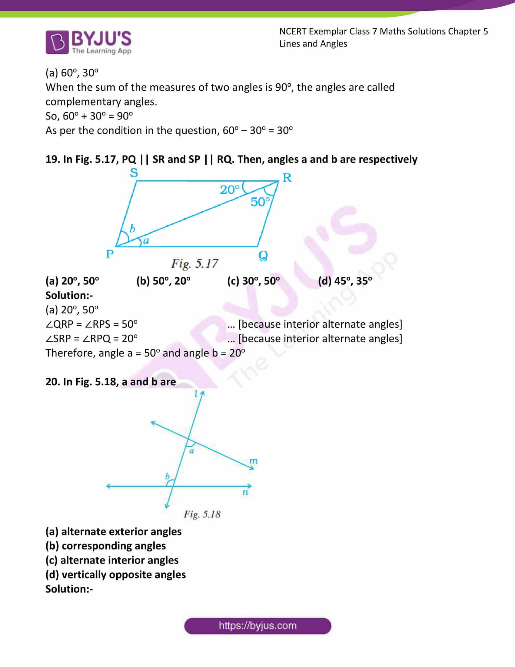 ncert exemplar class 7 maths solutions chapter 5 lines 09