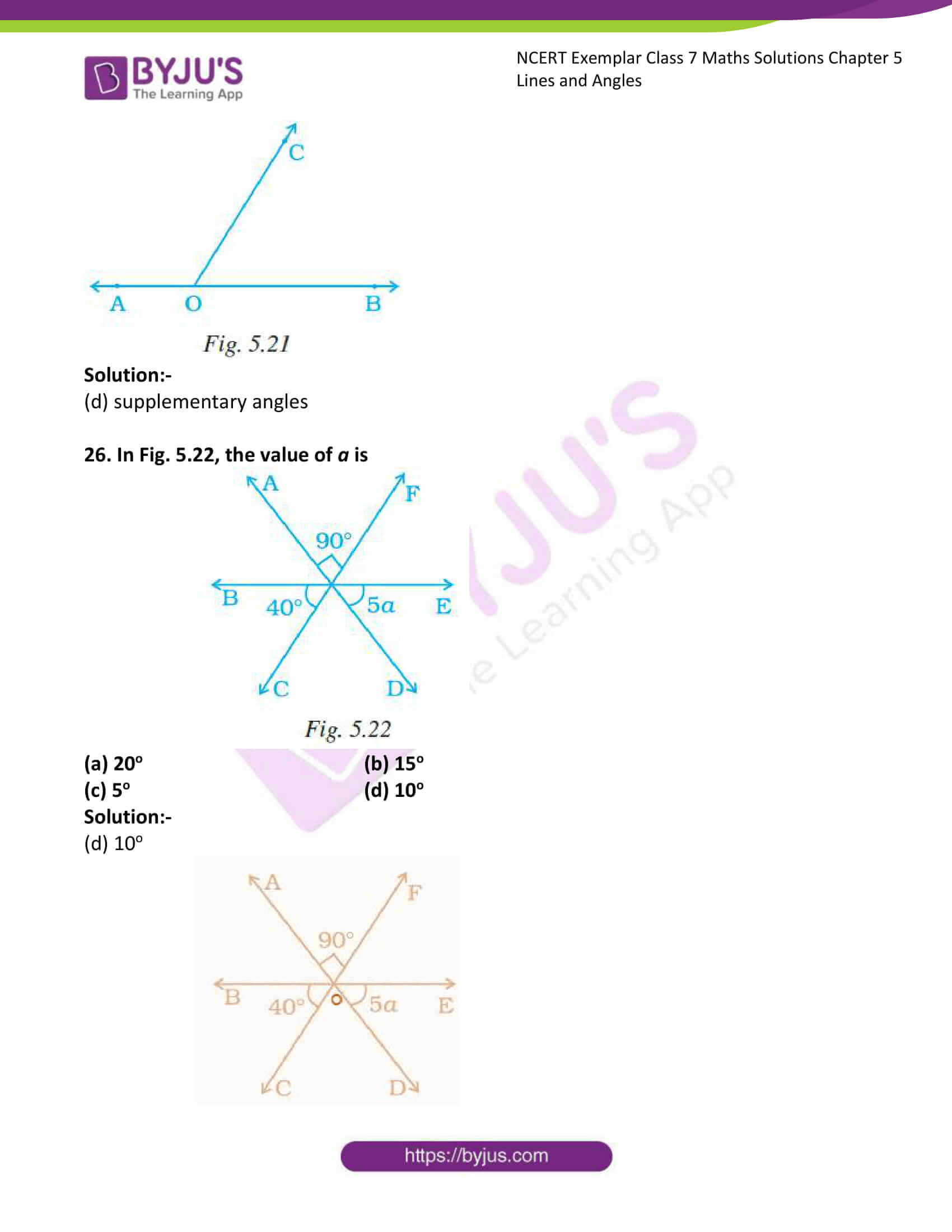 ncert exemplar class 7 maths solutions chapter 5 lines 12