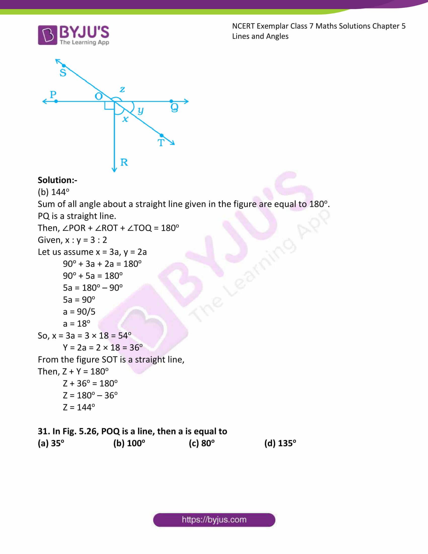ncert exemplar class 7 maths solutions chapter 5 lines 15