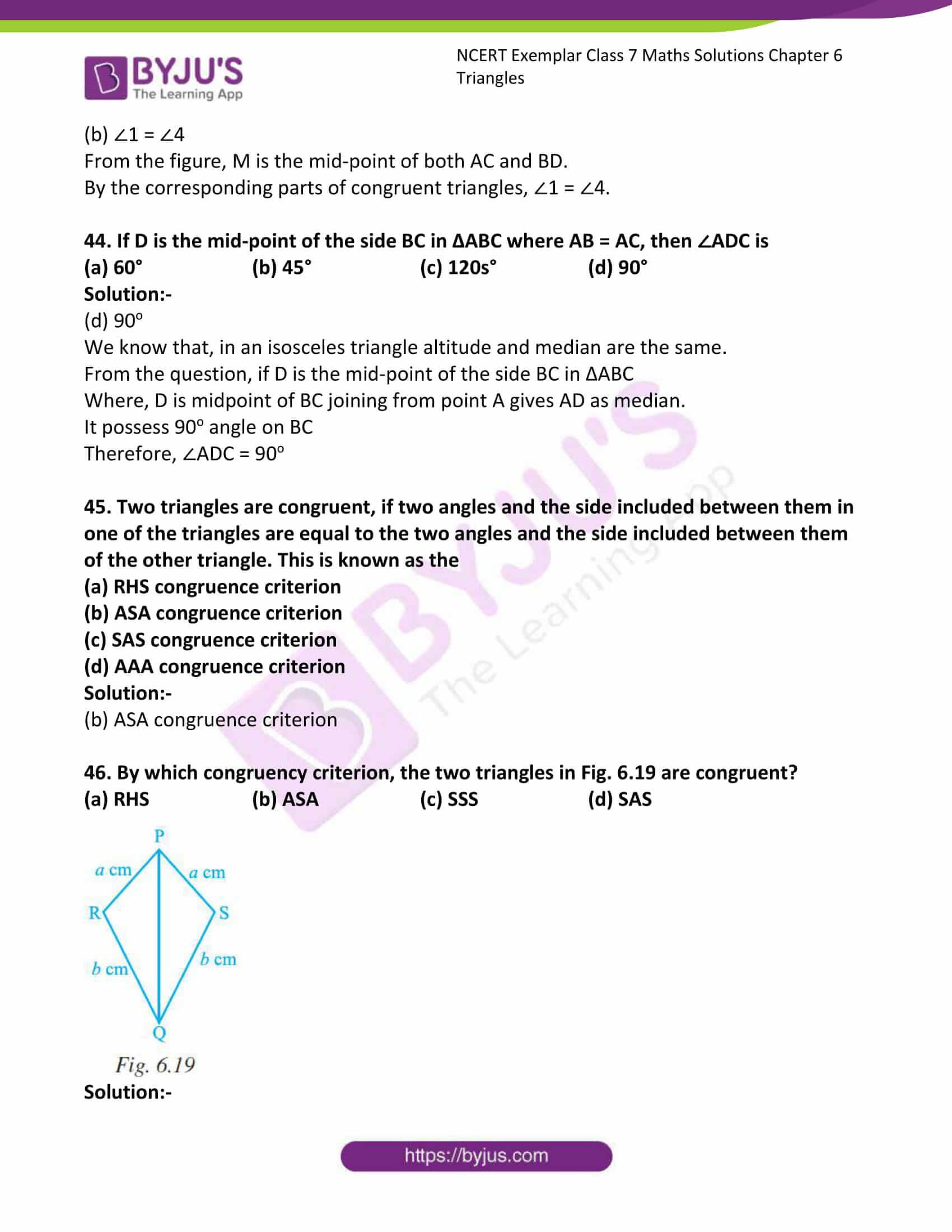 ncert exemplar class 7 maths solutions chapter 6 triangles 20