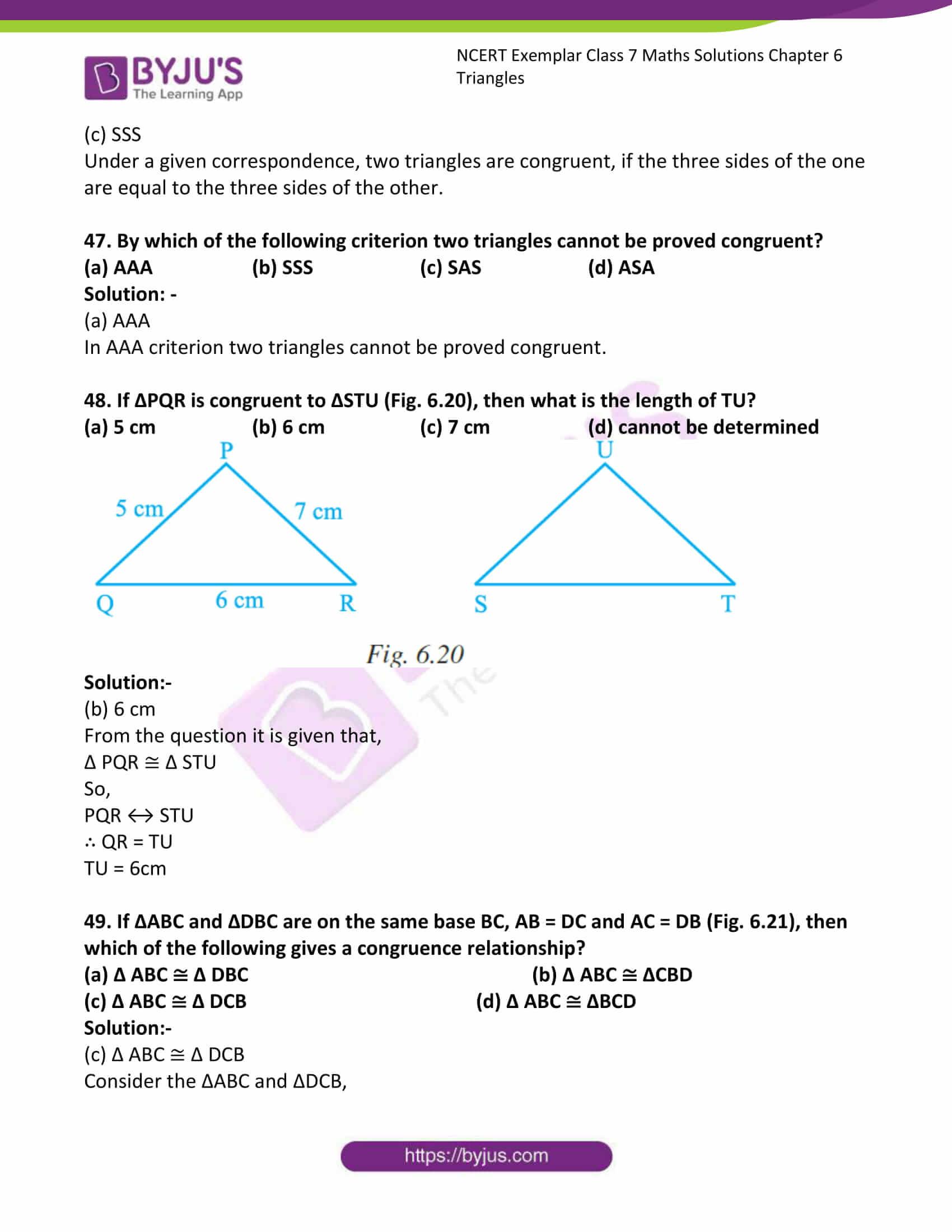 ncert exemplar class 7 maths solutions chapter 6 triangles 21