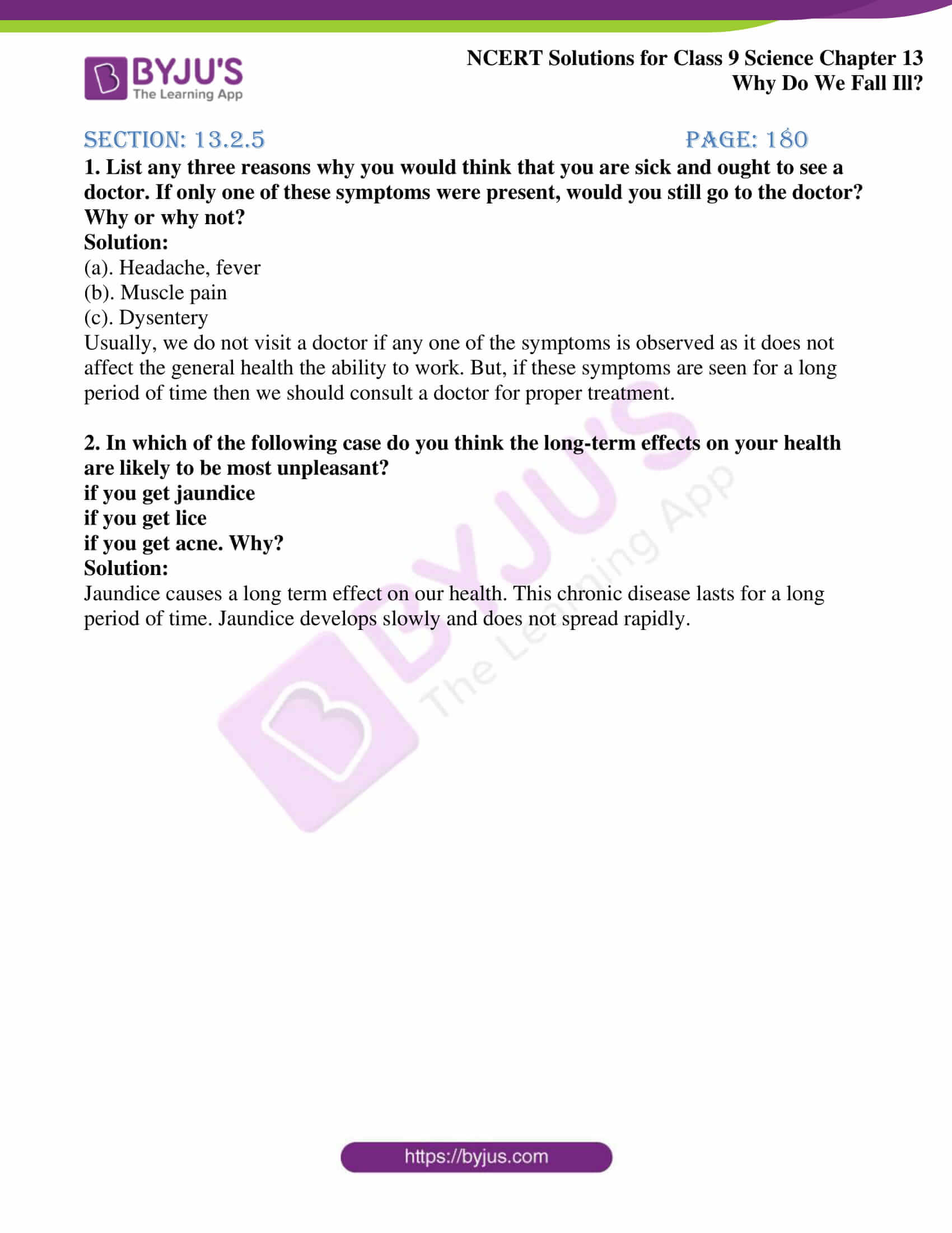 NCERT Solutions Class 9 Science Chapter 13 Why Do We Fall ...