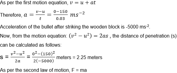 Force and Laws of  Motion Notes and NCERT Solution