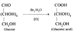 Oxidation reaction of glucose