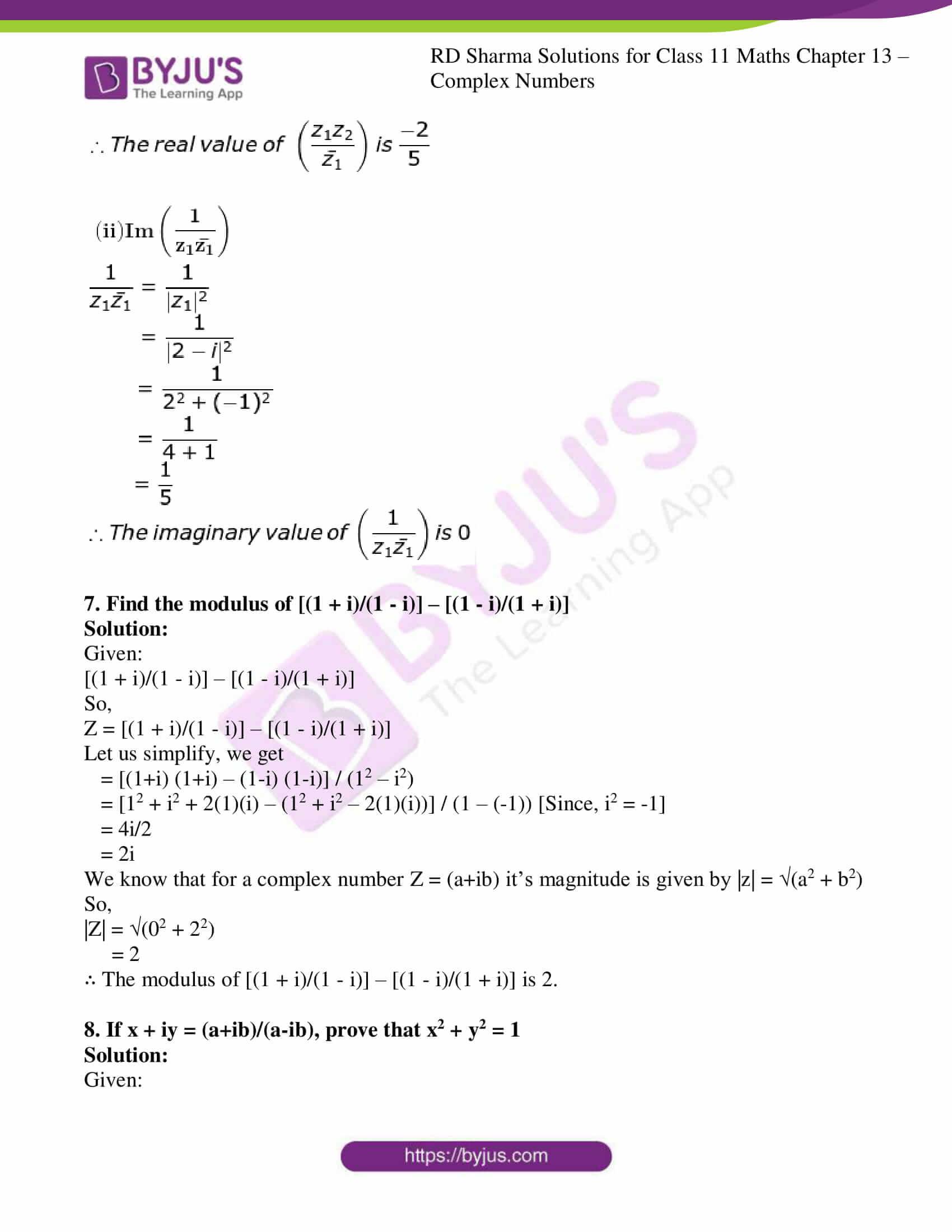 rd sharma class 11 maths ch 13 ex 2 16