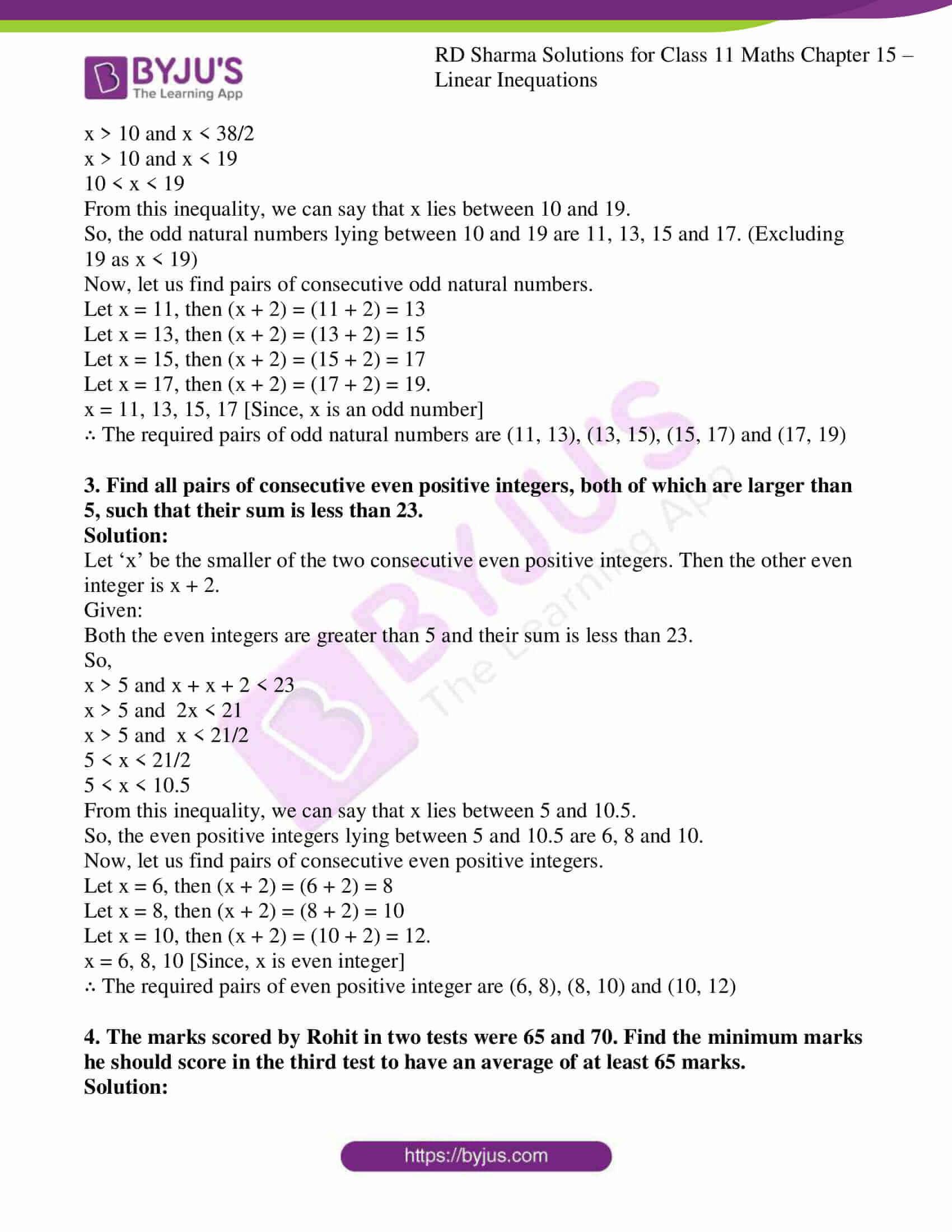 rd sharma class 11 maths ch 15 ex 4 2