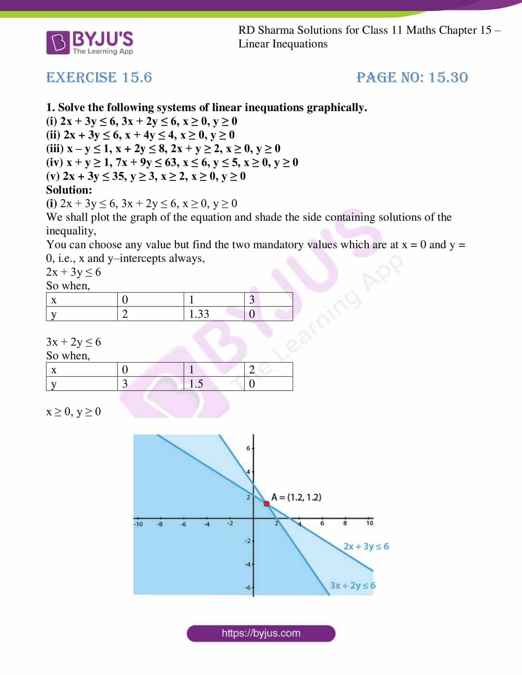 rd sharma class 11 maths ch 15 ex 6 01
