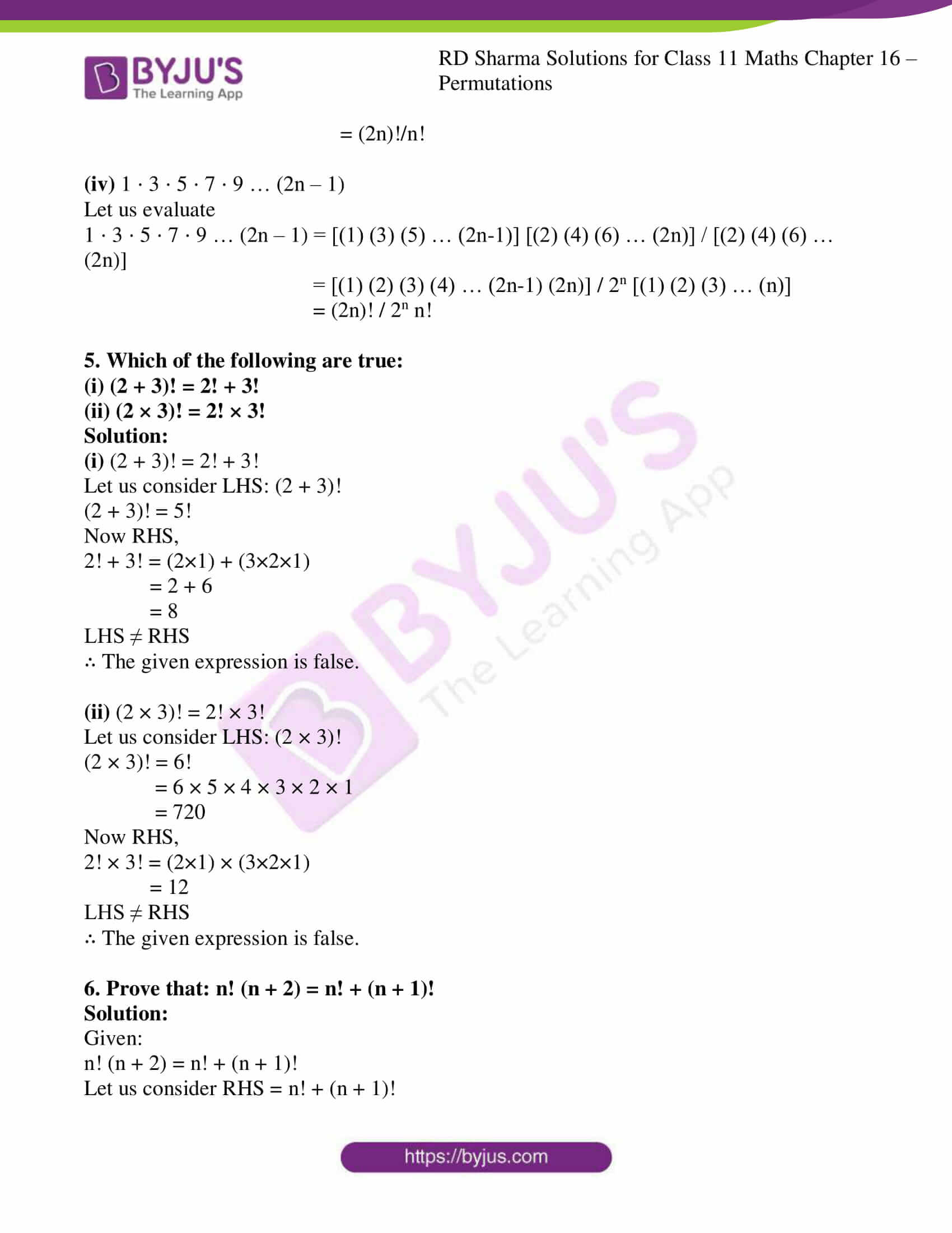 rd sharma class 11 maths ch 16 ex 1 4