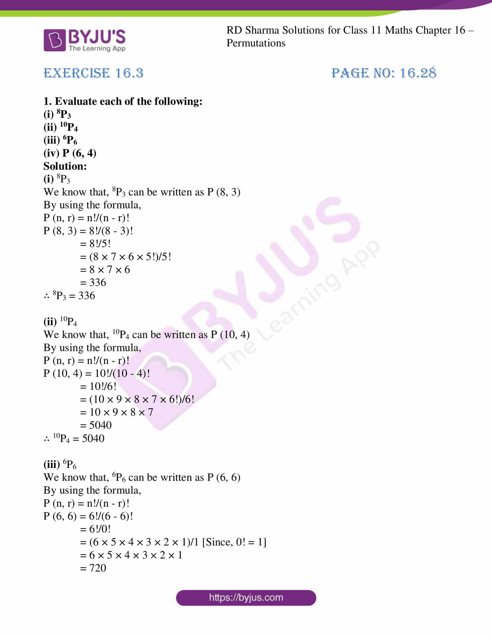 rd sharma class 11 maths ch 16 ex 3 01