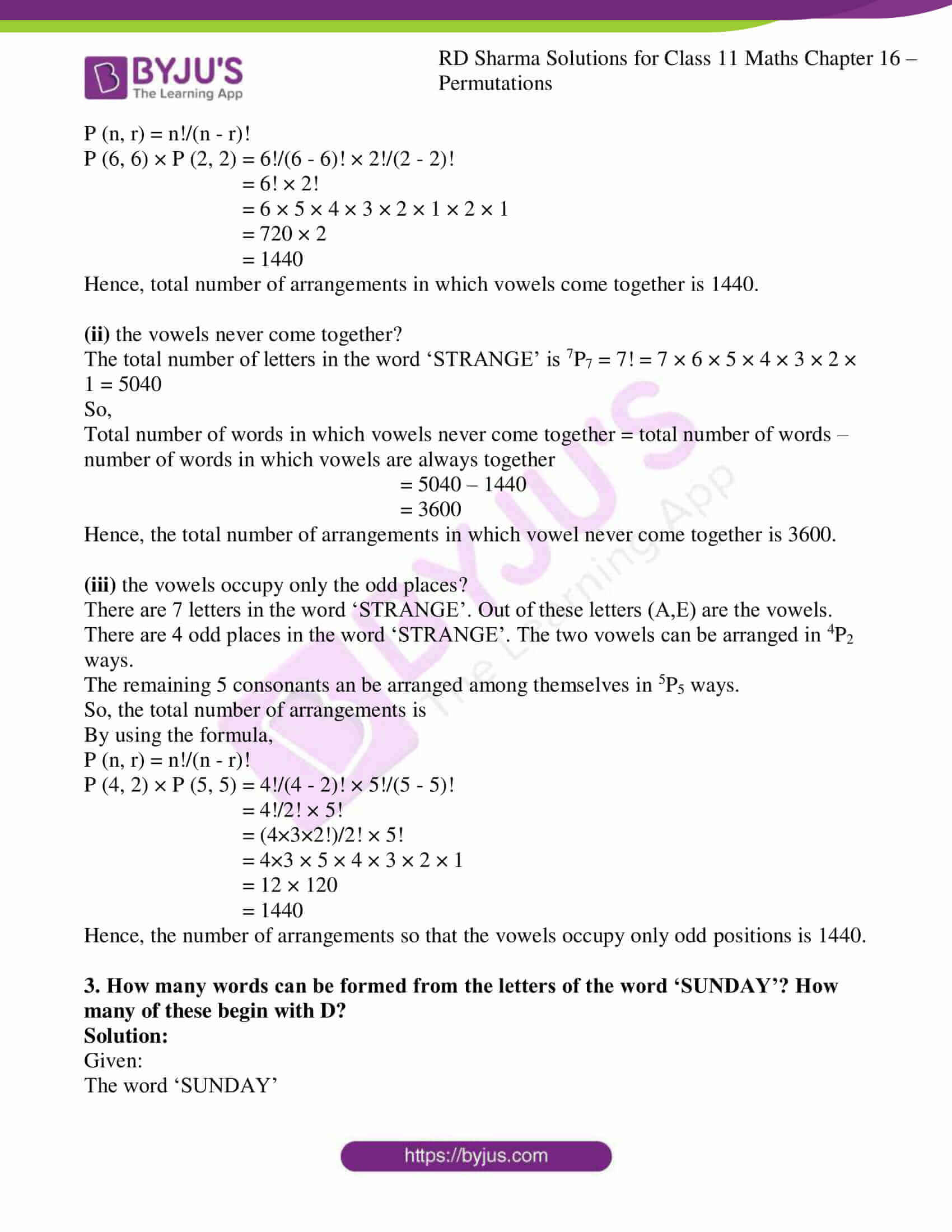 rd sharma class 11 maths ch 16 ex 4 2