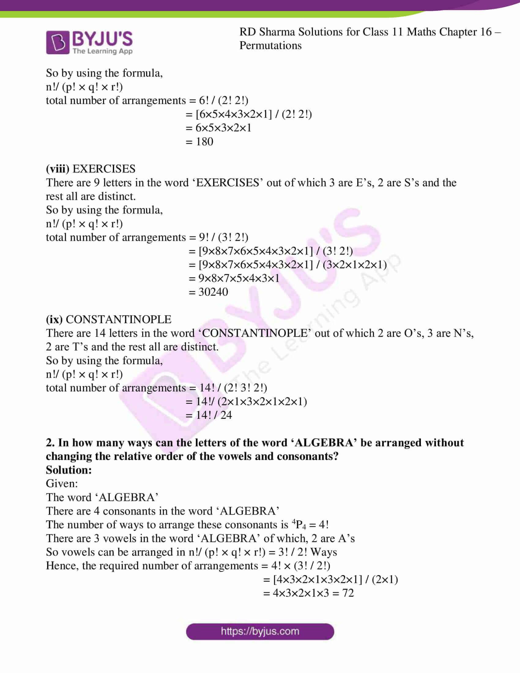 rd sharma class 11 maths ch 16 ex 5 3