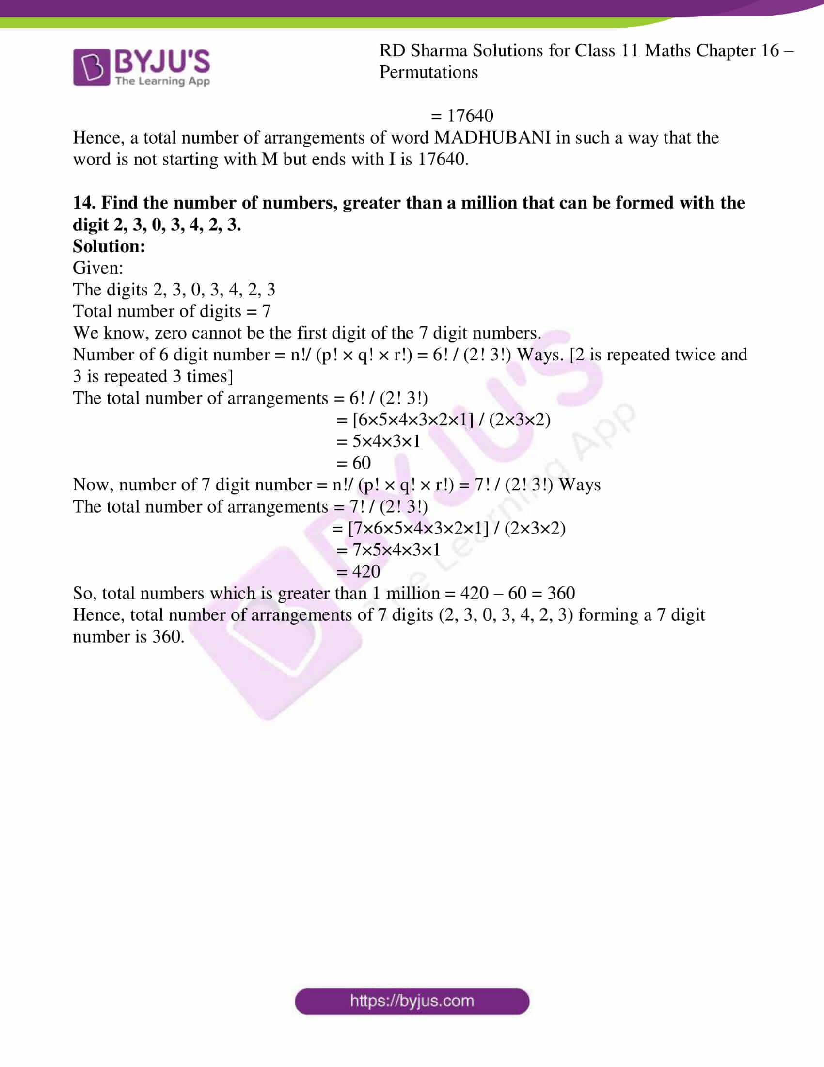 rd sharma class 11 maths ch 16 ex 5 9