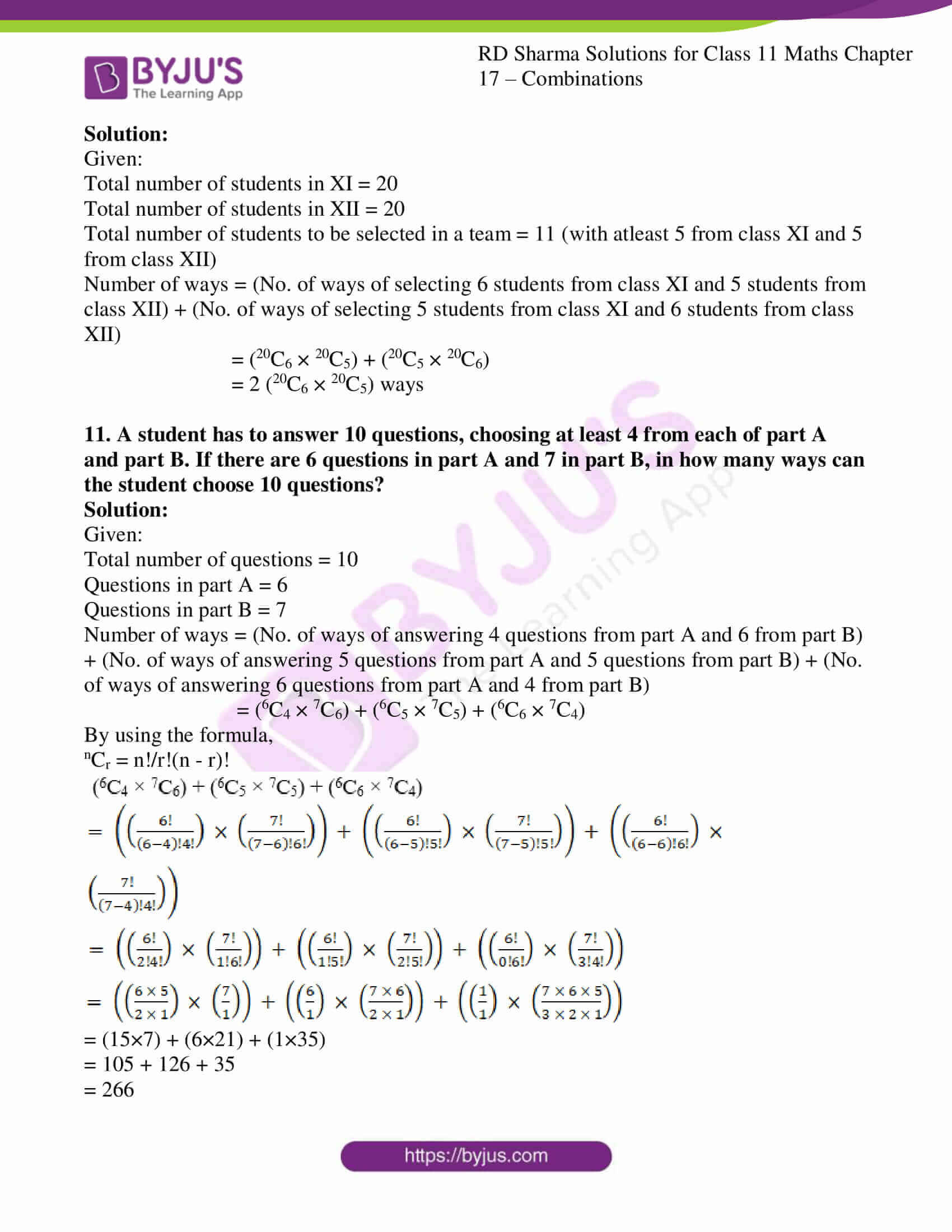 rd sharma class 11 maths ch 17 ex 2 09