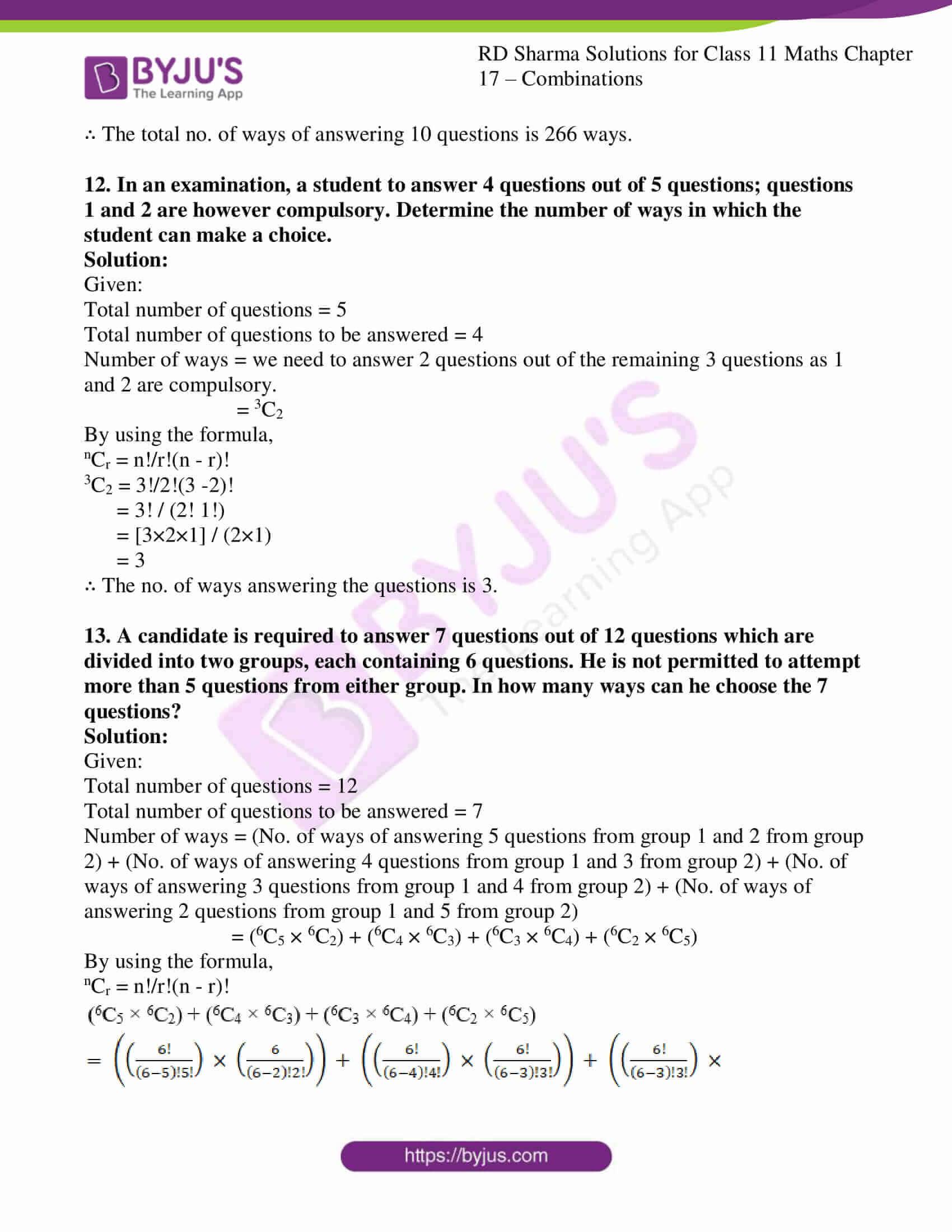 rd sharma class 11 maths ch 17 ex 2 10