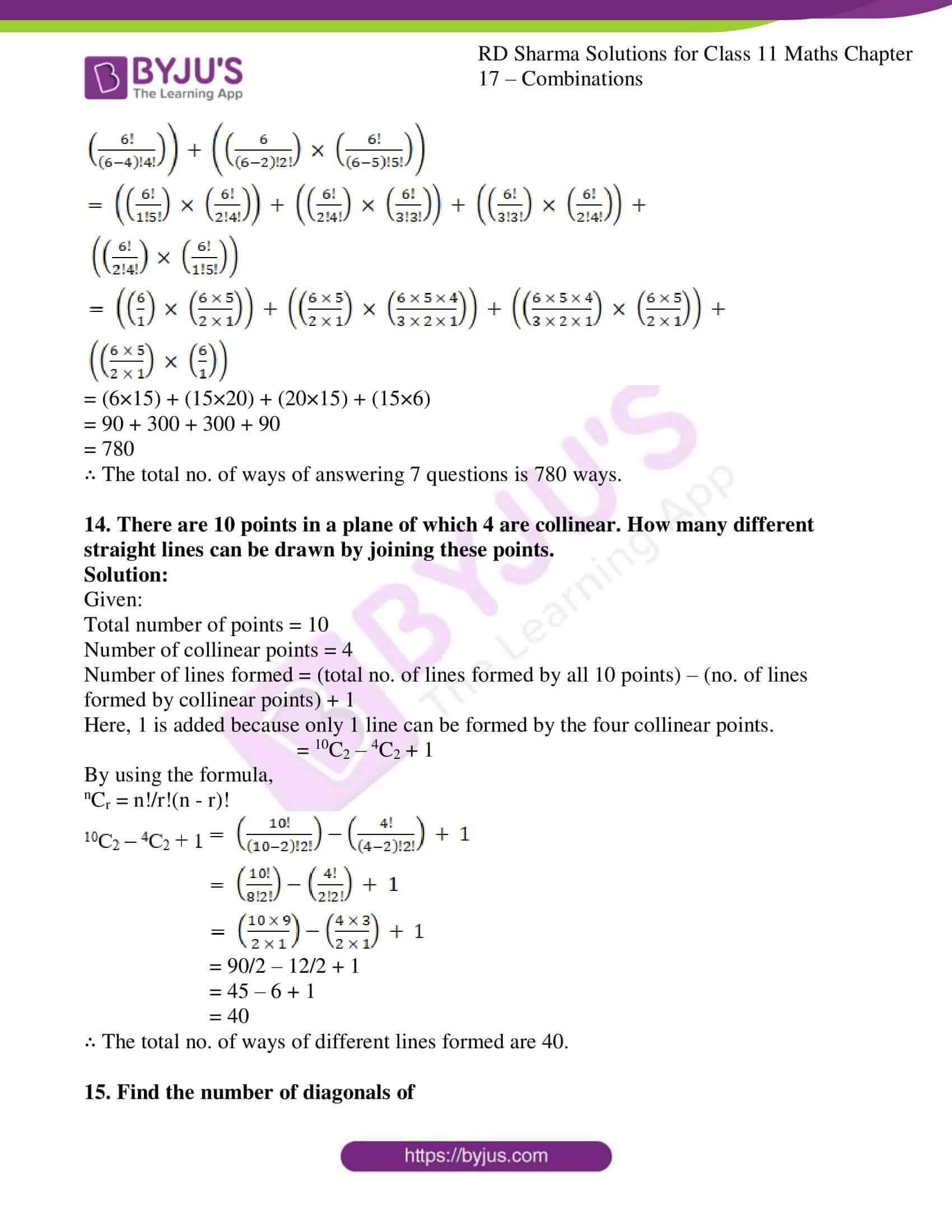 rd sharma class 11 maths ch 17 ex 2 11