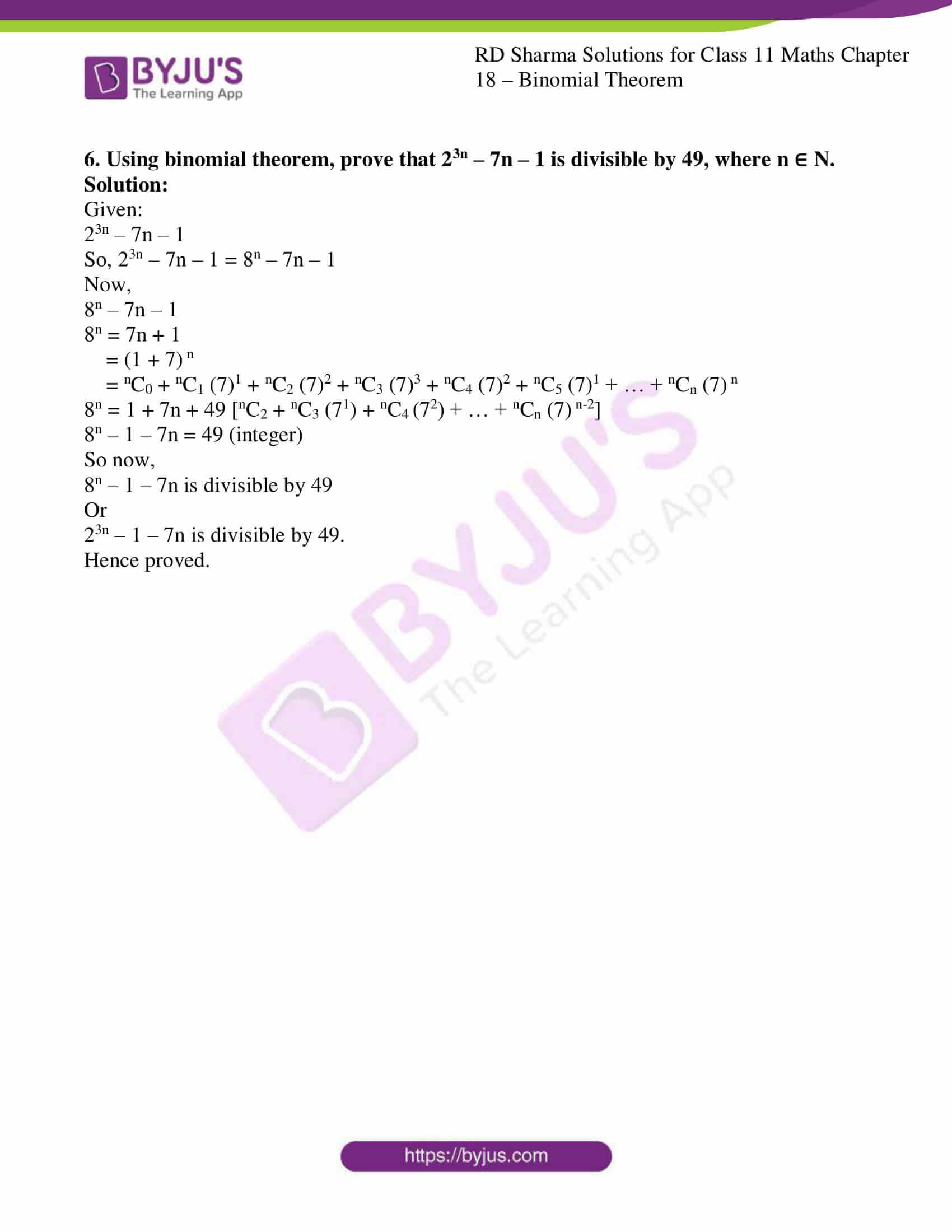 rd sharma class 11 maths ch 18 ex 1 10
