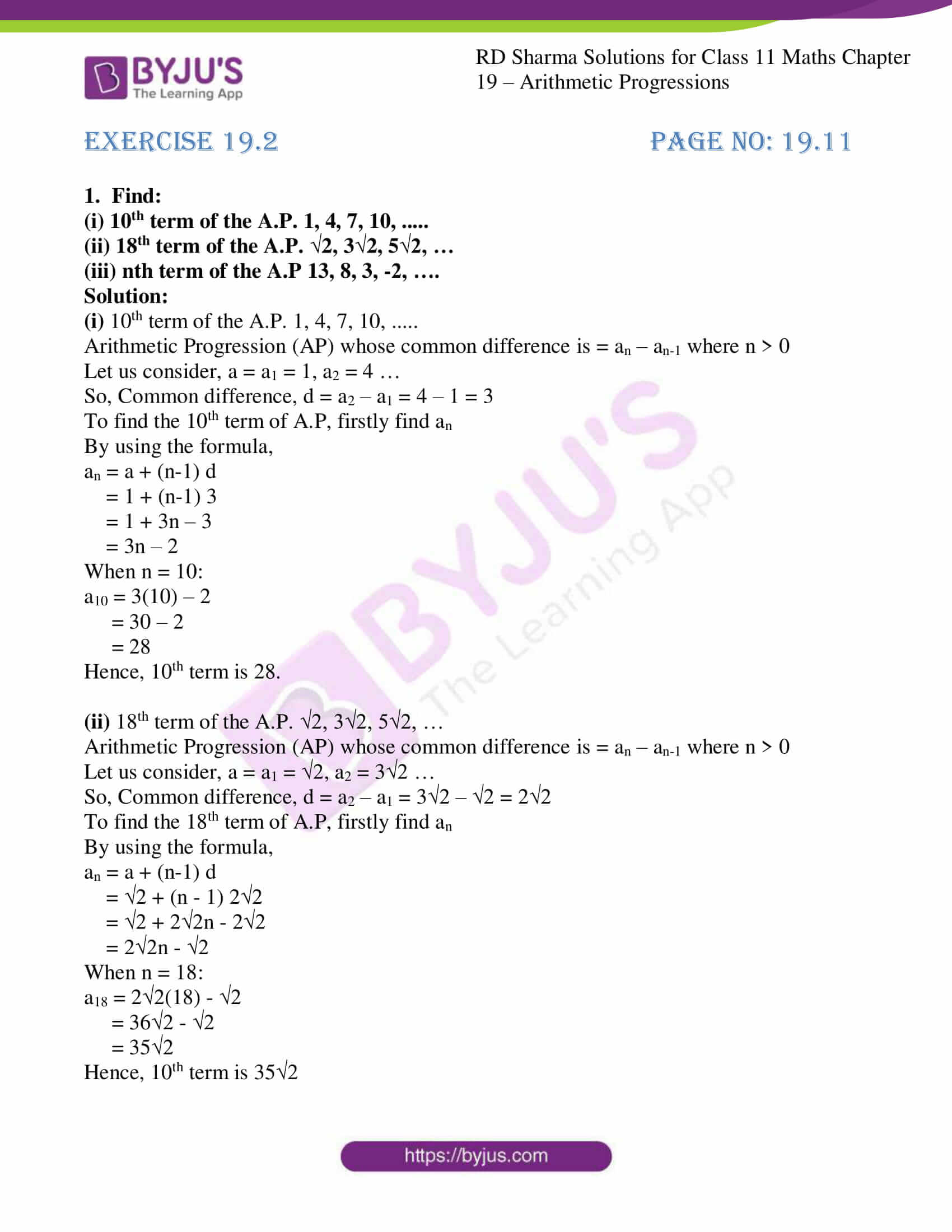 rd sharma class 11 maths ch 19 ex 2 01