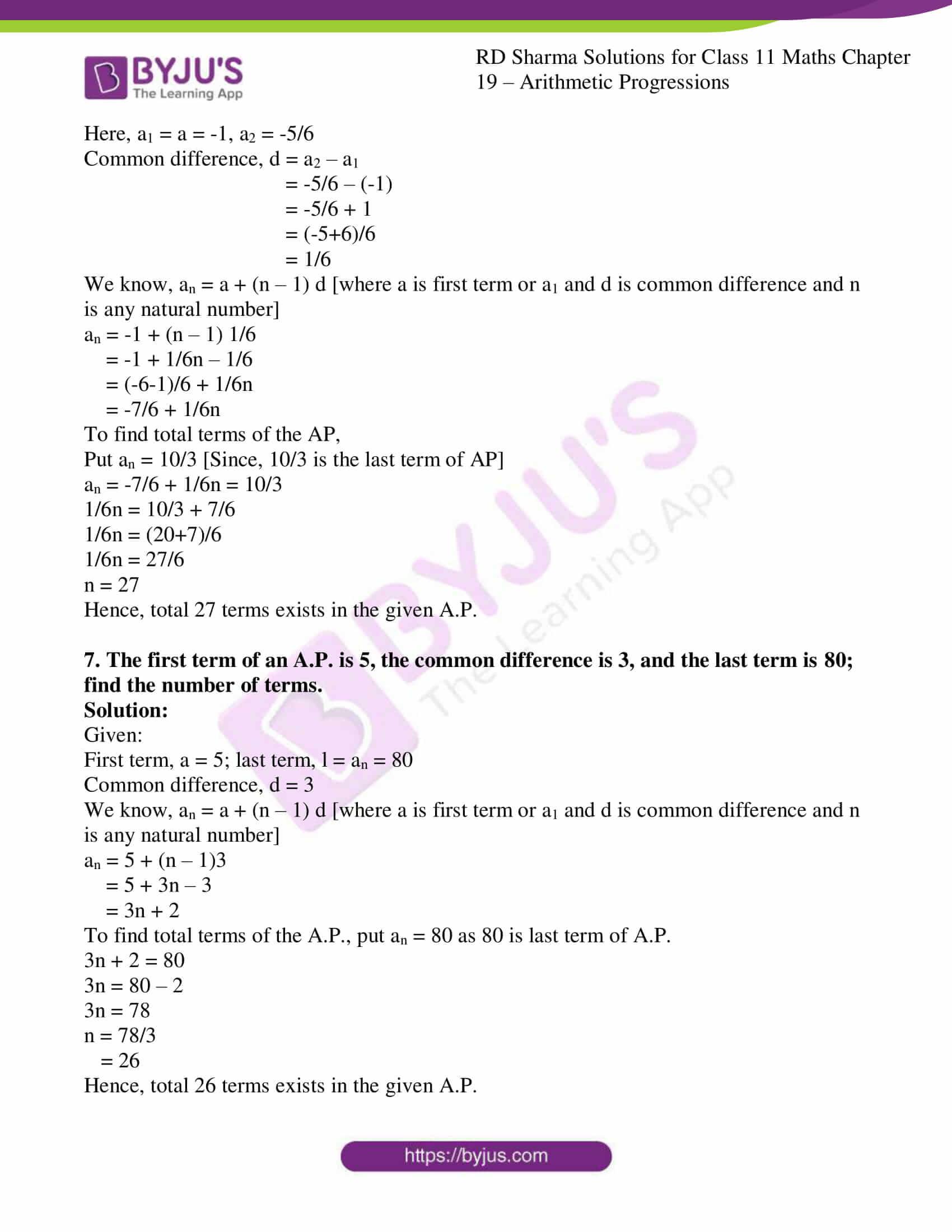 rd sharma class 11 maths ch 19 ex 2 07