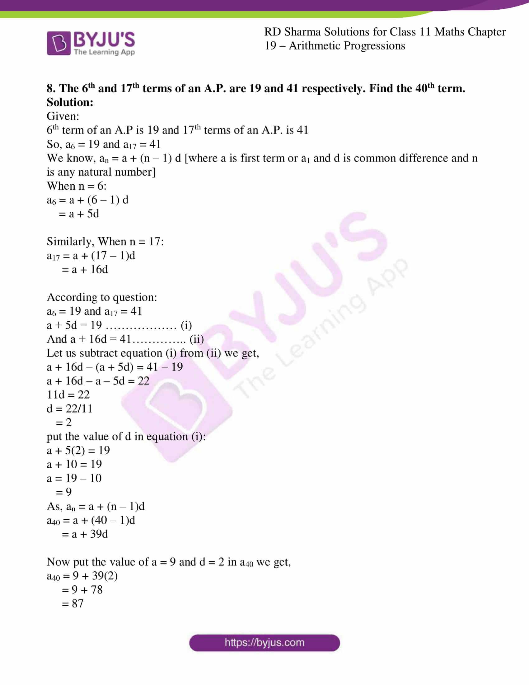 rd sharma class 11 maths ch 19 ex 2 08