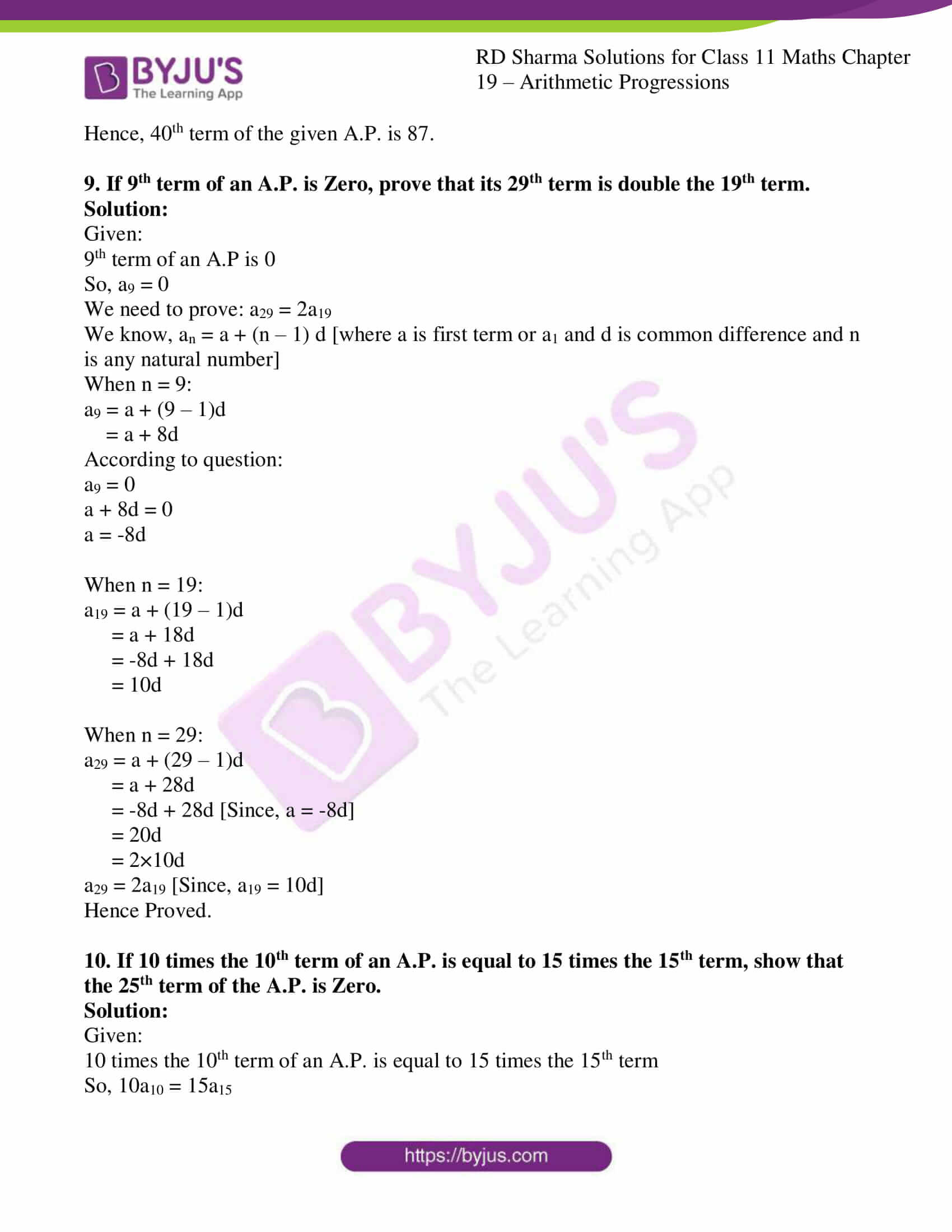 rd sharma class 11 maths ch 19 ex 2 09