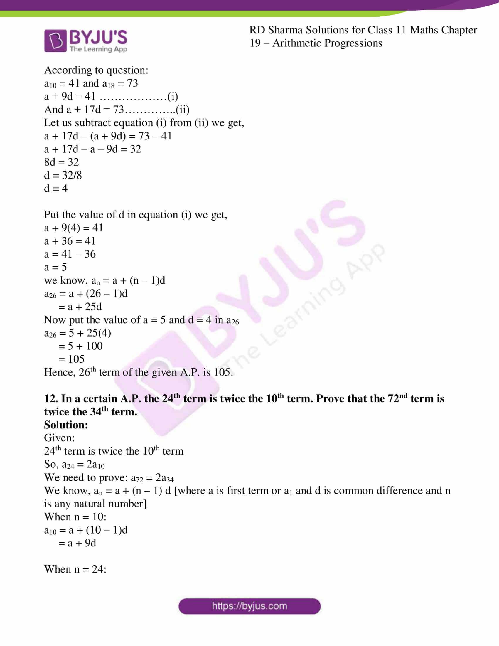 rd sharma class 11 maths ch 19 ex 2 11