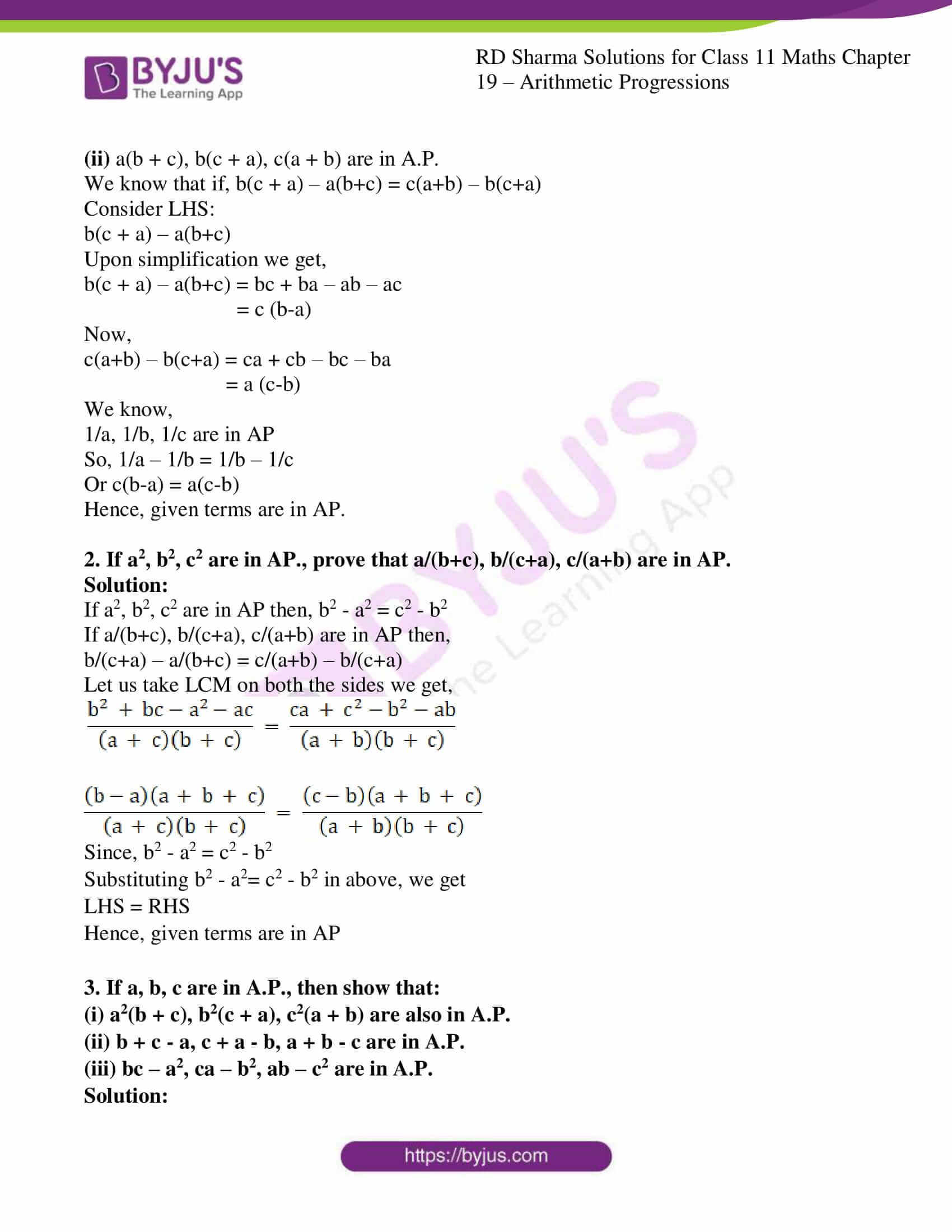 rd sharma class 11 maths ch 19 ex 5 2