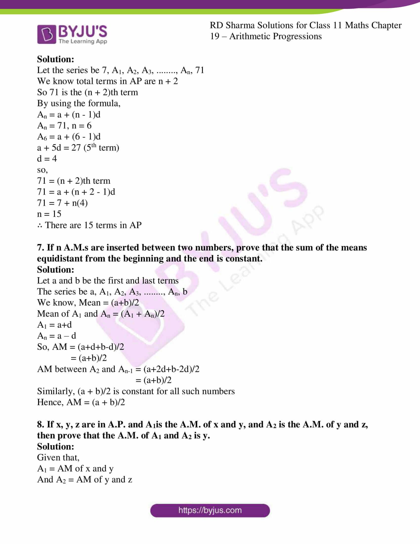 rd sharma class 11 maths ch 19 ex 6 4