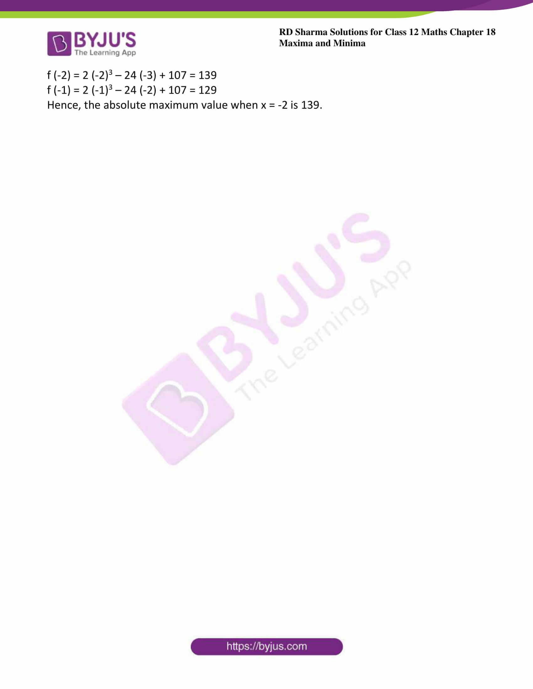 rd sharma class 12 maths sol chap 18 ex 4 4