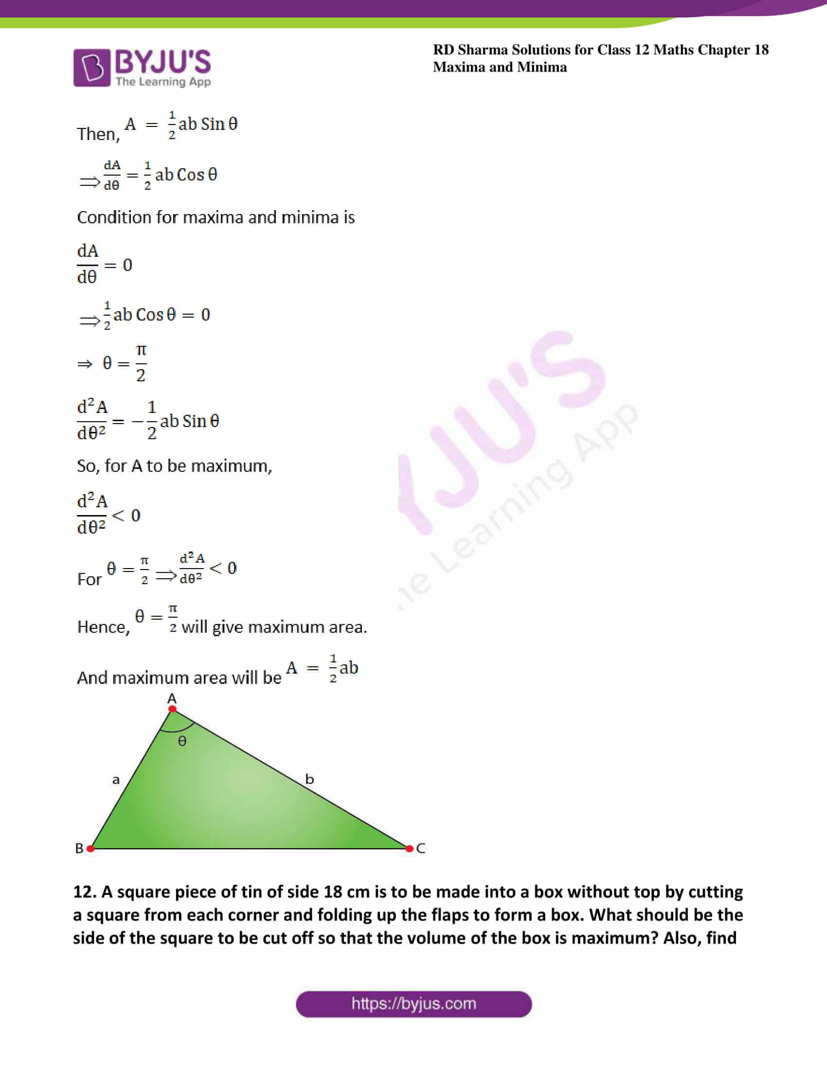 rd sharma class 12 maths sol chap 18 ex 5 15